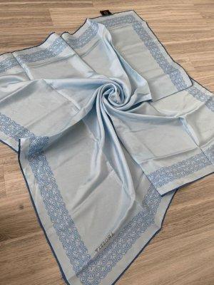 Vissona Bufanda de seda azul celeste