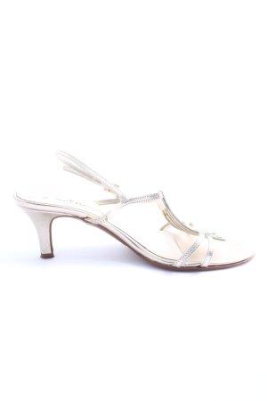 Vista High Heel Sandaletten silberfarben Casual-Look