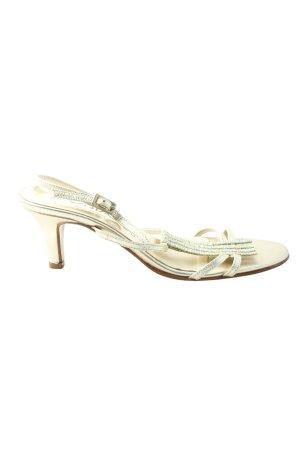 Vista High Heel Sandaletten goldfarben Elegant