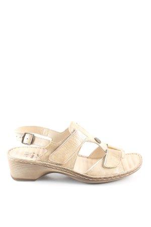 vitaform Riemchen-Sandalen creme Casual-Look