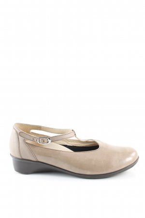 vitaform T-Strap Pumps cream casual look
