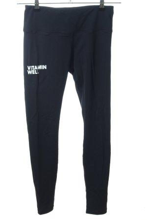Pantalone da ginnastica nero stile casual