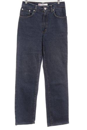Vitamina Boot Cut Jeans blau Casual-Look