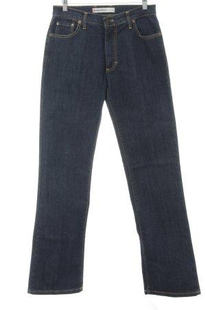 Vitamina Boot Cut Jeans dunkelblau Casual-Look