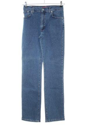 Vitamina Straight-Leg Jeans blau Casual-Look