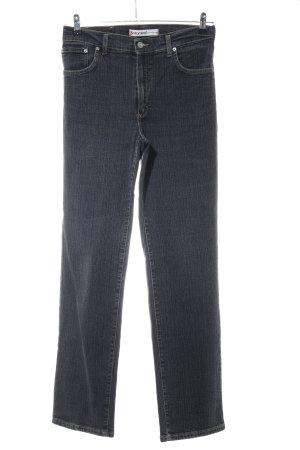 Vitamina Straight-Leg Jeans schwarz Casual-Look