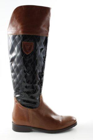 Vitti Love Botas de equitación color bronce-negro