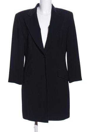 Vittoria Verani Long-Blazer blau Business-Look