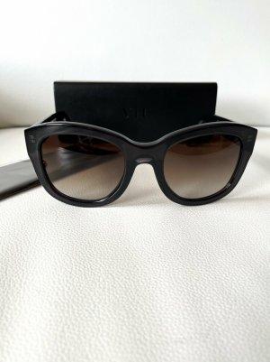 VIU Butterfly bril zwart Acetaat