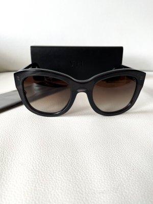 VIU Butterfly Glasses black acetate