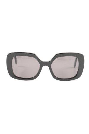 VIU Retro Brille schwarz Casual-Look