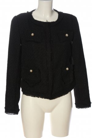 Viva Couture Pea Jacket black casual look