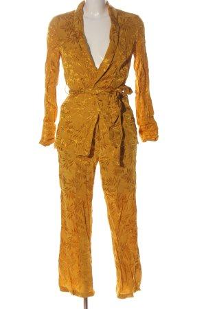 Viva Couture Ensemble tissé orange clair style décontracté
