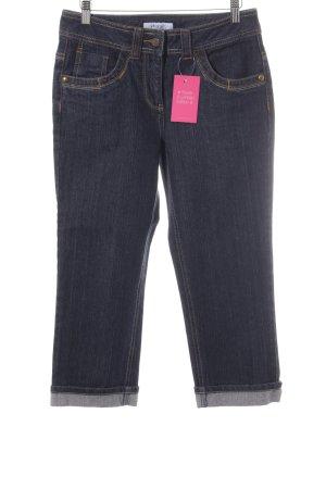 Vivance 3/4 Jeans dunkelblau meliert Casual-Look