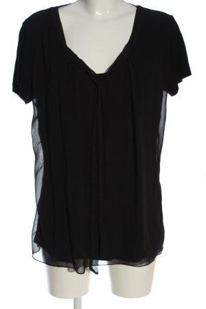 Vivance Colletto camicia nero stile casual