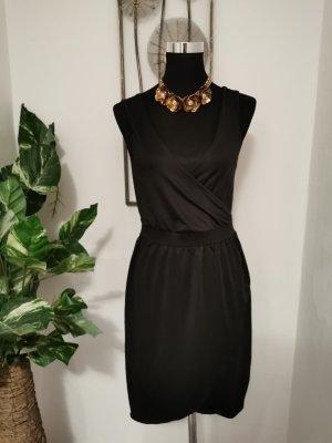 Vivance Sukienka z rękawem balonowym czarny