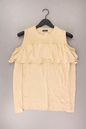 Vivance Cut Out Pullover Größe 40 braun aus Baumwolle