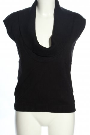 Vivance Fine Knitted Cardigan black casual look