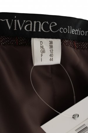 Vivance Trouser Suit brown flecked business style