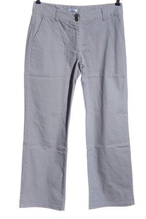 Vivance Jeans a gamba dritta grigio chiaro stile casual