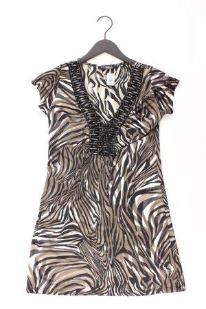 Vivance Kurzarmkleid Größe 36 braun aus Polyester