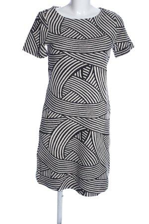 Vivance Minikleid schwarz-weiß abstraktes Muster klassischer Stil