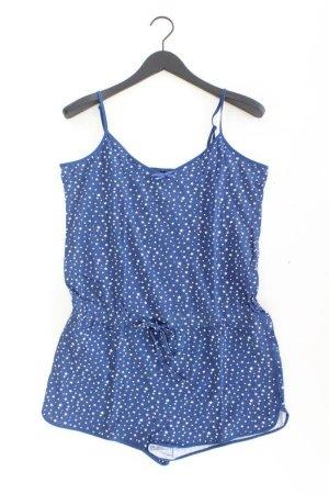 Vivance Schlaf Jumpsuit Größe 42 blau aus Baumwolle