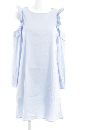 Vivance schulterfreies Kleid blau Casual-Look