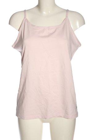 Vivance Top con bretelline rosa stile casual