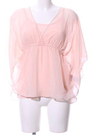 Vivance Transparenz-Bluse pink Elegant