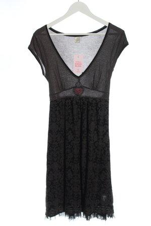 Vive Maria Mini Abito grigio chiaro-nero motivo floreale elegante