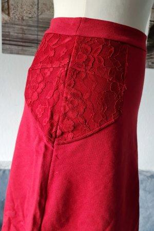 Vive Maria Red Boheme Skirt, neu, Gr. S, Rock mit Spitze