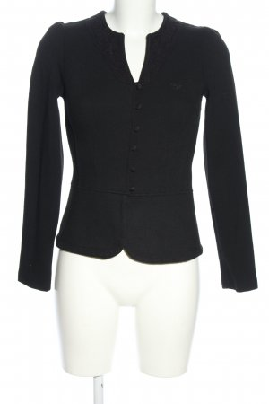 Vive Maria Shirtjacke schwarz Business-Look