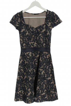 Vive Maria Knitted Dress cream-black allover print casual look