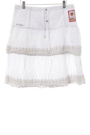 Vive Maria Broomstick Skirt white-beige casual look