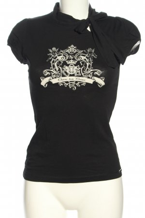 Vive Maria T-Shirt schwarz-weiß grafisches Muster Casual-Look