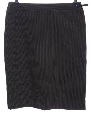VIVENTY Bernd Berger Pencil Skirt black-light grey allover print casual look