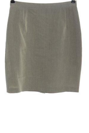 VIVENTY Bernd Berger Miniskirt light grey striped pattern casual look