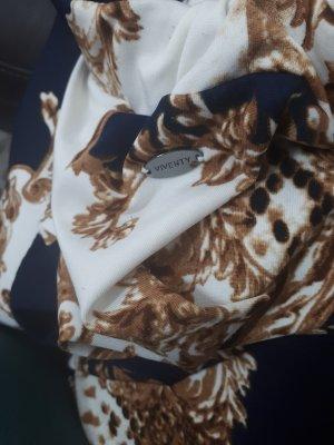 Viventy Spódnico-spodnie złoto-ciemnoniebieski