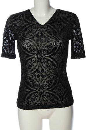 Viventy Short Sleeved Blouse black casual look
