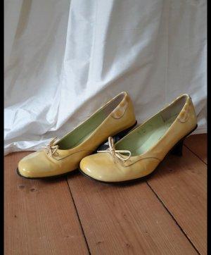 Viventy Pumps Schuhe gelb Gr. 39,5 super Zustand 2 x getragen