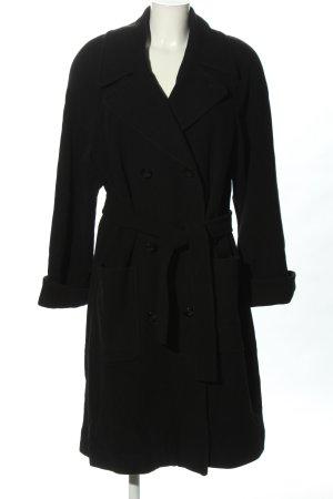 Viventy Manteau en laine noir style décontracté