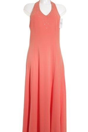 vivian caron Abendkleid lachs Elegant