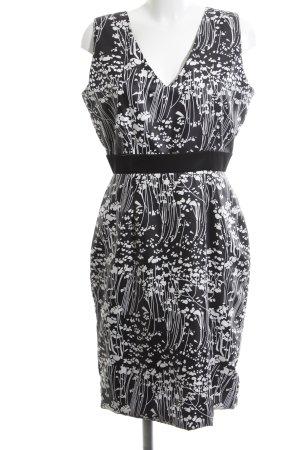 Vivian Ray Cocktailkleid schwarz-weiß Blumenmuster Elegant