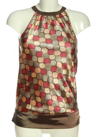 Vivien Caron Sleeveless Blouse allover print casual look