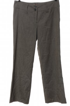 Vivien Caron Suit Trouser light grey flecked casual look