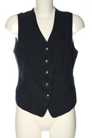 Vivien Caron Waistcoat black business style