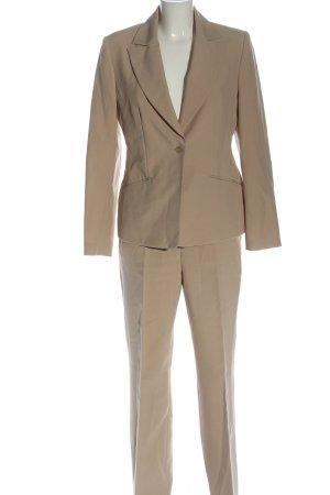 Vivien Caron Trouser Suit cream business style