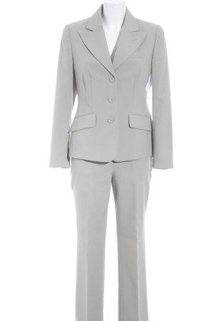 Vivien Caron Hosenanzug graugrün Business-Look