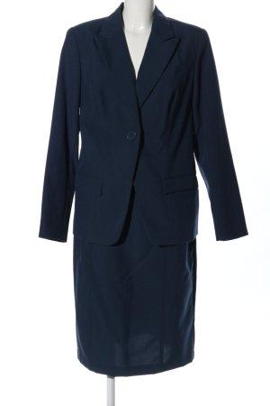 Vivien Caron Kostüm blau Business-Look